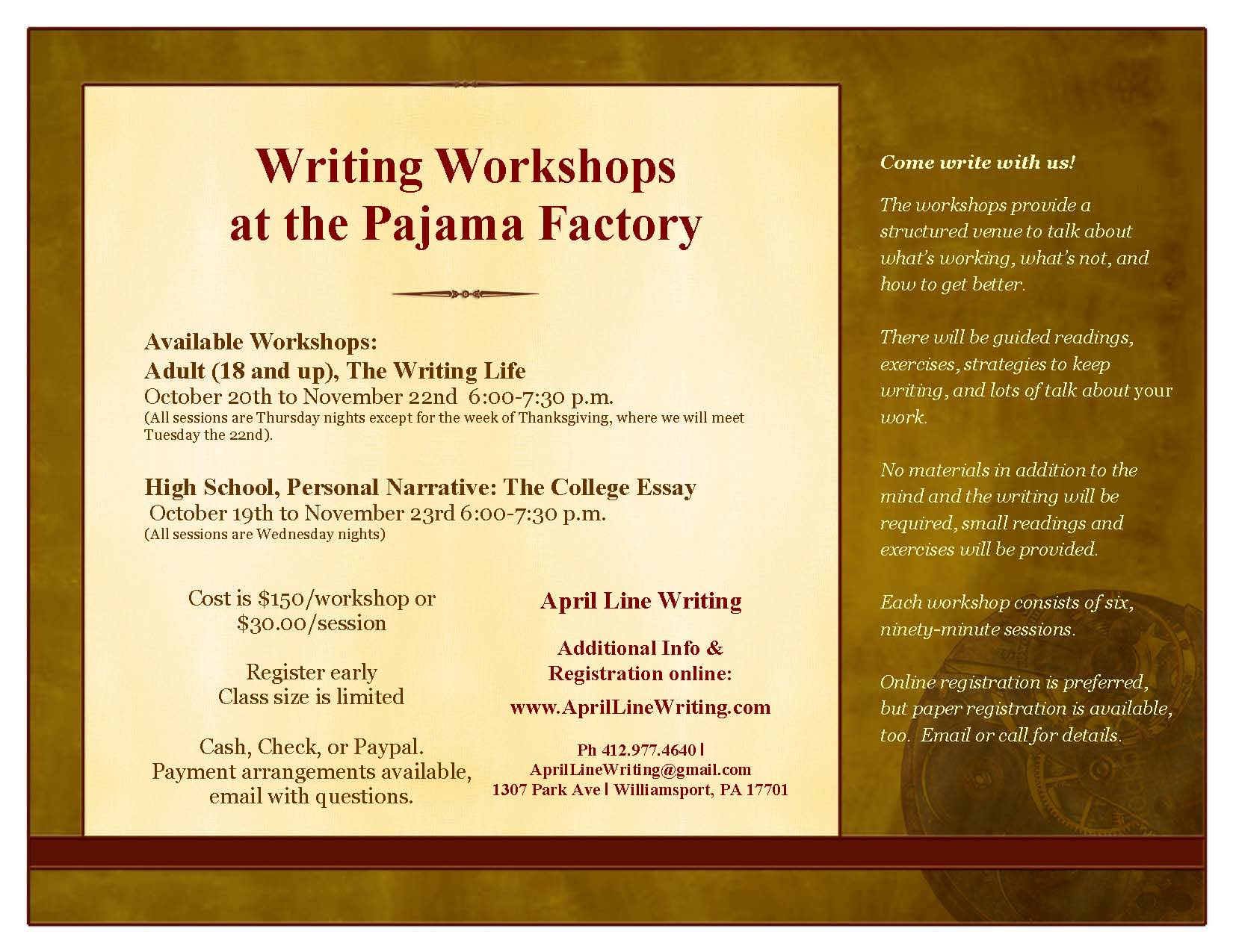 writing courses nyc