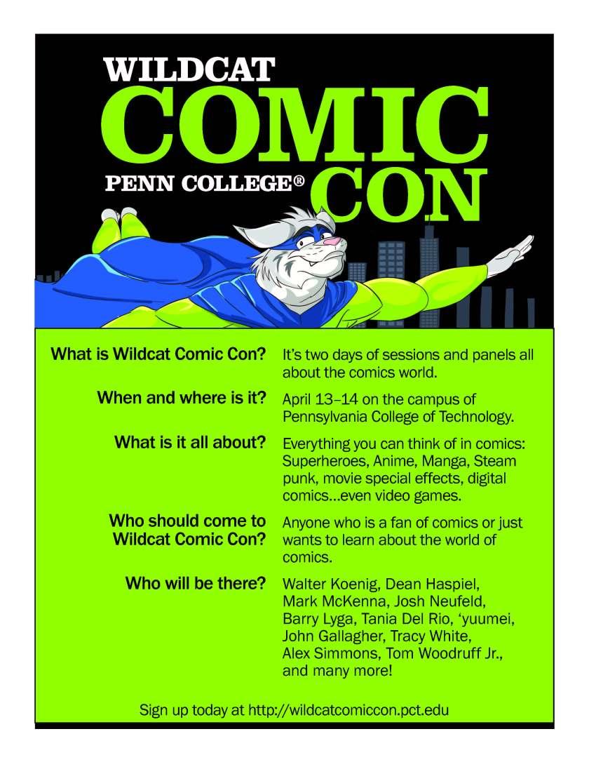 Wildcat Comic Con