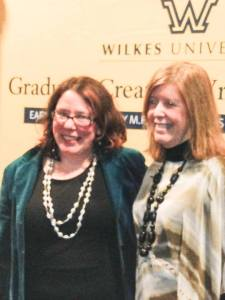 Me and My Mentor, Nancy McKinley, at Fake Graduation from Wilkes