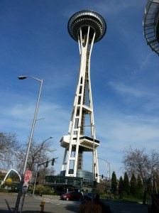 The Space Needle's Such a Nice Guy!